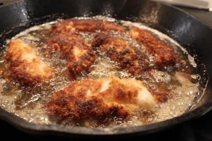 Gluten-Free Fried Chicken Tenders & Honey Mustard Salad | Foodie ...